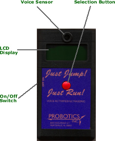 annotated image of Just Jump handheld